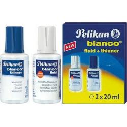 Pelikan Υγρό και Διαλυτικό 2 x 20ml 335778