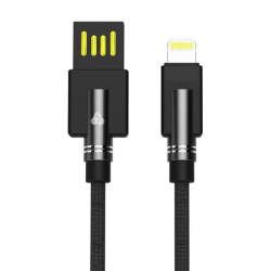 POWERTECH ΚΑΛΩΔΙΟ USB ΣΕ LIGHTNING DUAL ELE PTR-0063 COPPER 1m ΜΑΥΡΟ