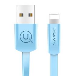 USAMS ΚΑΛΩΔΙΟ USB ΣΕ LIGHTNING US-SJ199 1.2m ΜΠΛΕ