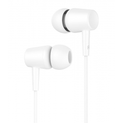 CELEBRAT EARPHONES G13 ΜΕ ΜΙΚΡΟΦΩΝΟ 10mm 1.2m ΛΕΥΚΟ