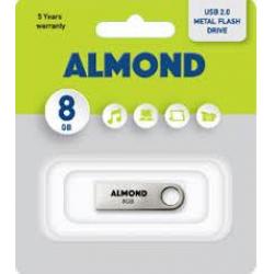 ALMOND FLASH DRIVE 32GB ΜΕΤΑΛΛΙΚΟ ΜΙΝΙ