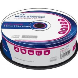 MediaRange CD-R 80 700MB 25TEM MR-201