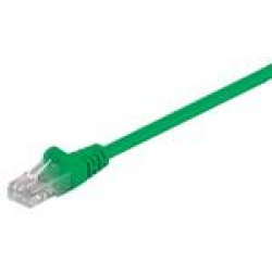 GΟOBAY καλώδιο UTP Cat 5e 68358, CCA, 27AWG, PVC, 2m, πράσινο