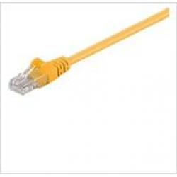 GΟOBAY καλώδιο UTP Cat 5e 68341, CCA, 27AWG, PVC, 1m, κίτρινο
